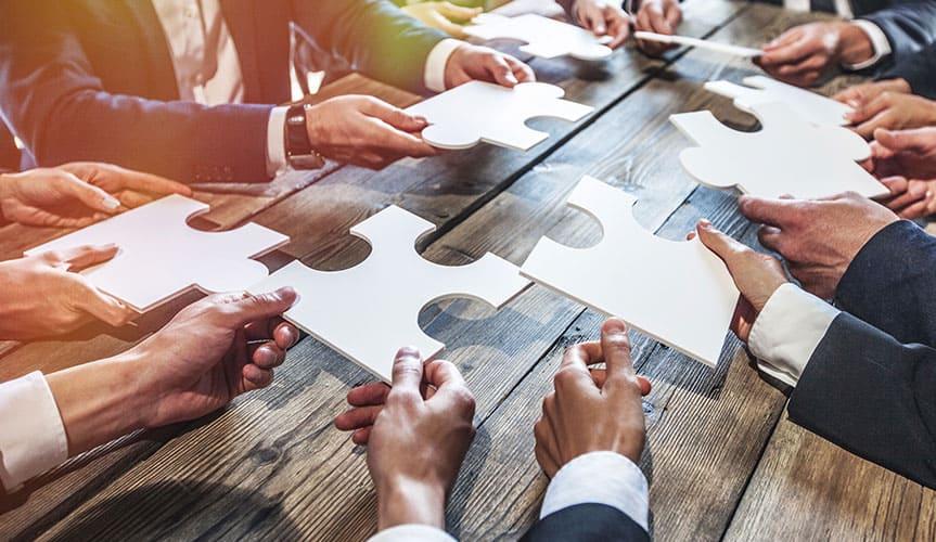 Endlich Struktur und Organisation durch ein Team sowie Traumkunden nach Plan
